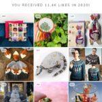 KnitHacker's Top Nine Posts Of 2020 On Instagram!