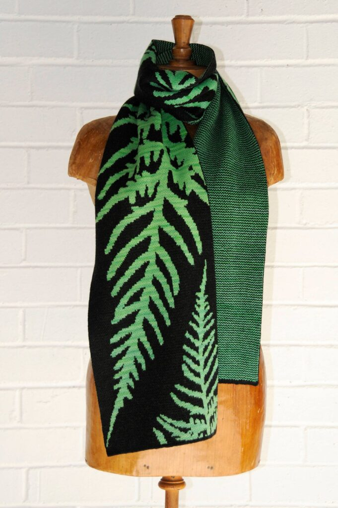 Virginia Burrow's Stunning Machine-Knit Scarves & Wraps ... Jaw Dropping!