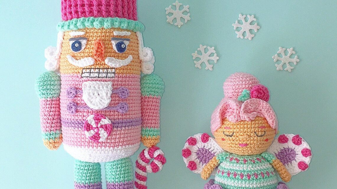 Meet The Nutcracker & Sugar Plum Fairy Amigurumi Everyone Is Raving About … Get the Patterns!