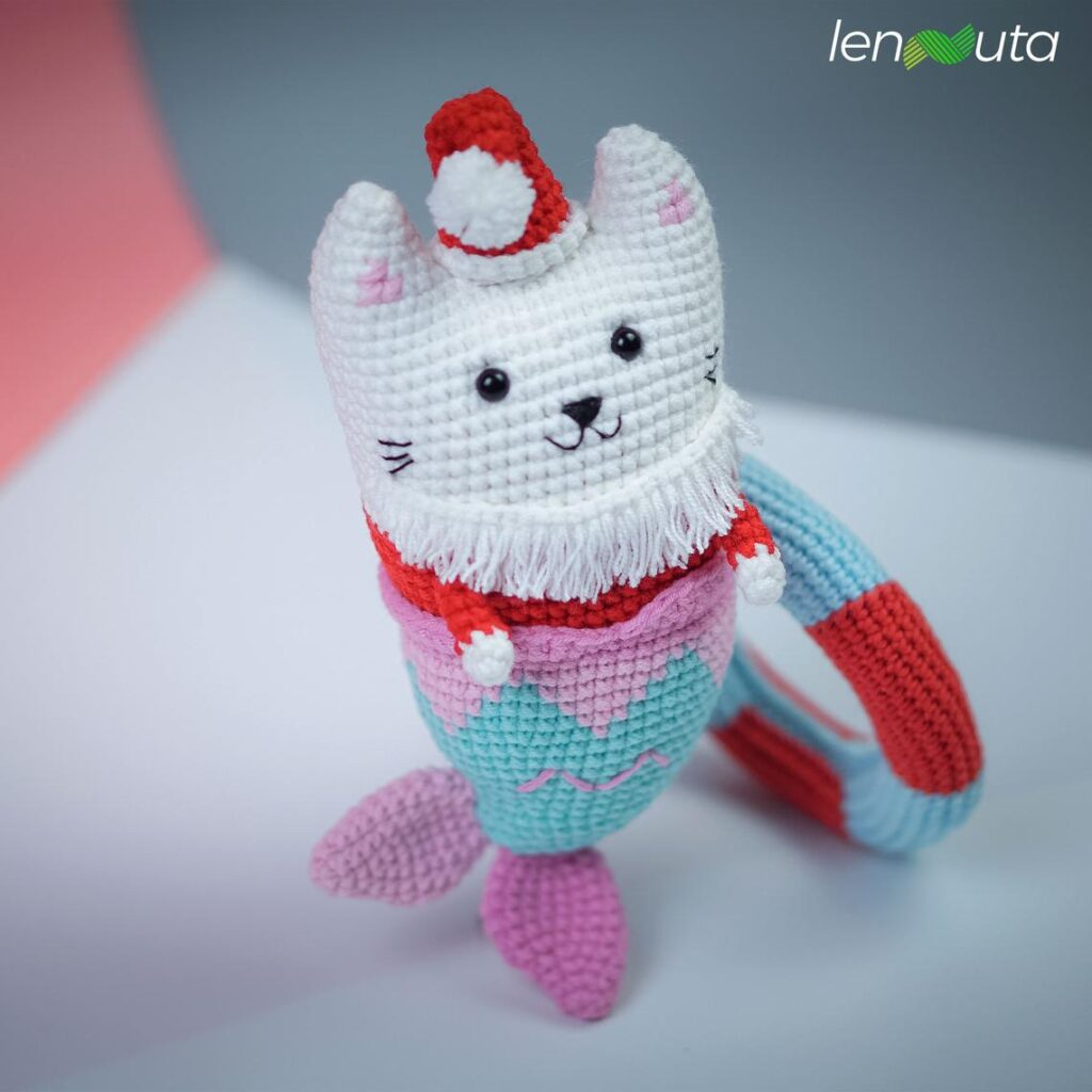 Hey Crocheters, You Asked For It, The Purrmaid Amigurumi Pattern For YOU Is Here