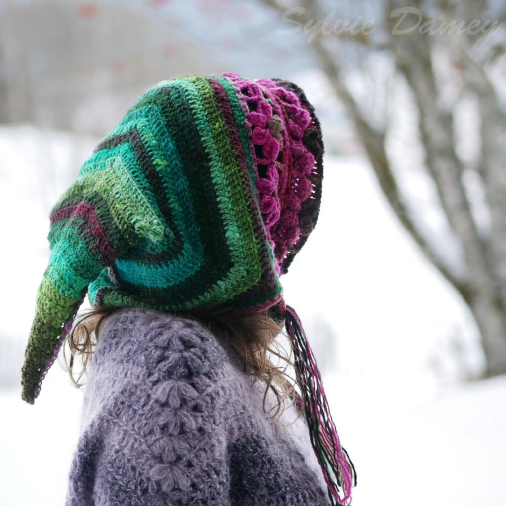 Crochet a Super Cute Pixie Hood, The Perfect Accessory For The Elves & Fairies In Your Life