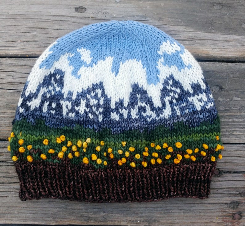 Hat Patterns Inspired By U.S. National Parks, Designed By Nancy Bates