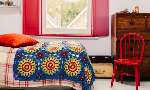 Crochet A Fabulous Fields of Gold Blanket, Pattern By Janie Crowfoot … Must Be Seen To Be Adored