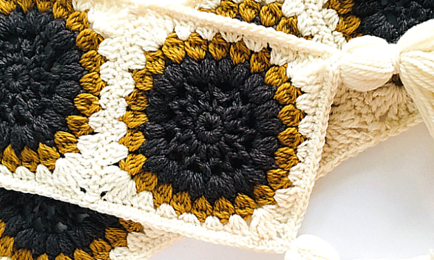 Crochet a Sunflowers Scarf … Inspired By Van Gogh … Free Pattern!