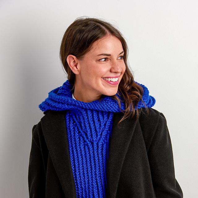 Free Chunky Knit Hood Pattern, A Perfect Winter Accessory