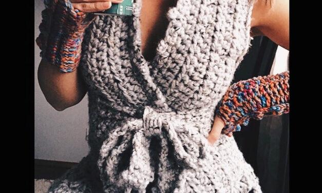 Oh My Gosh, This Super Duper Crochet Vest Is The Cutest