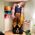 Guess Who Knit A Giant, Enormous, Great-Big-Huge, Larger-Than-Life, Thanos! Look!