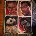 The Force Awakens Cross Stitch By Maker Lisa Mos