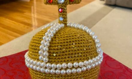 Crochet a Holy Hand Grenade of Antioch From Monty Python and the Holy Grail