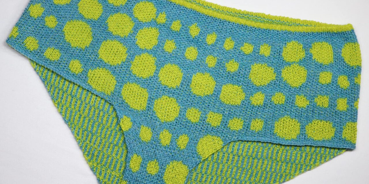 Marvelous Machine-Knit Panties Made By Rikke Amilde Seehuus