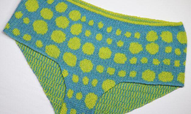 Marvelous Machine-Knit Panties Made By Rikke Amilde Seehuus