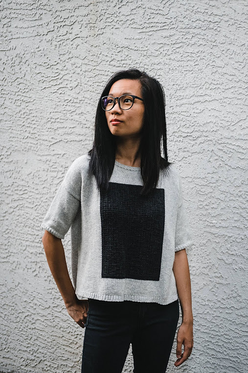 Knit A Blank Slate Tee Designed By Winter's Weather Knits