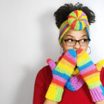 Top Knot Headband Ear Warmers Pattern, Free Pattern Designed By Alysha Littlejohn Of Littlejohn's Yarn