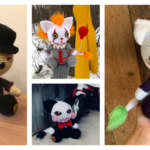 Horror Fans Will Loves These Creepy Cute Kitty-Cat Amigurumi Patterns By Tanya Corbeil