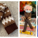 The Ultimate Bernie Sanders Patterns Round-Up For Makers, Knitters & Crocheters – Dolls, Mittens, Sweaters, Charts & More