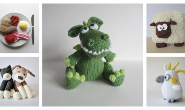 Designer Spotlight: The Best Kooky Cool Knit Patterns By Amanda Berry of Fluff and Fuzz