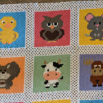 Crochet a 'Forest and Farm Friends' Afghan … A New Take On The C2C Blanket … Smart and Cute Too!