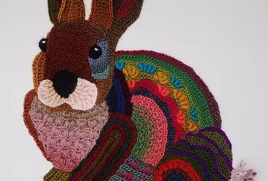 Yarnspiring Art Crocheted By Ann Benoot