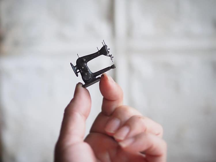 Spectacularly Small Miniatures Crafted By Japanese Artist Kiyomi