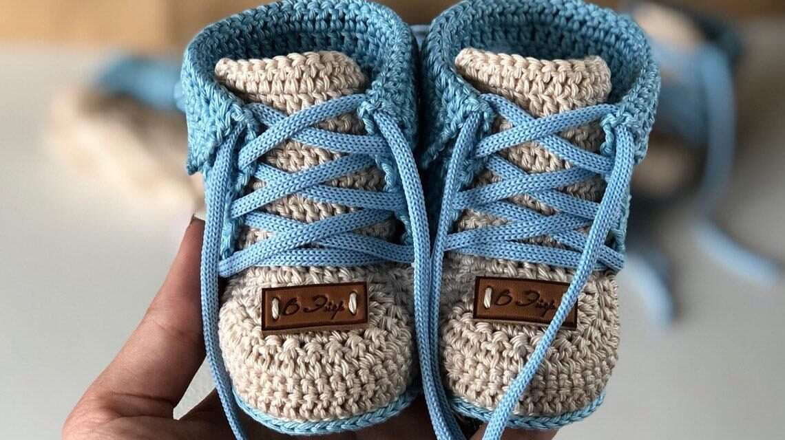 Move Over Boring Baby Booties, Up Your Crochet Game With These Sweet Kiddie Kicks