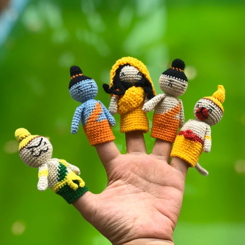 Crochet patterns by Anvi's Granny
