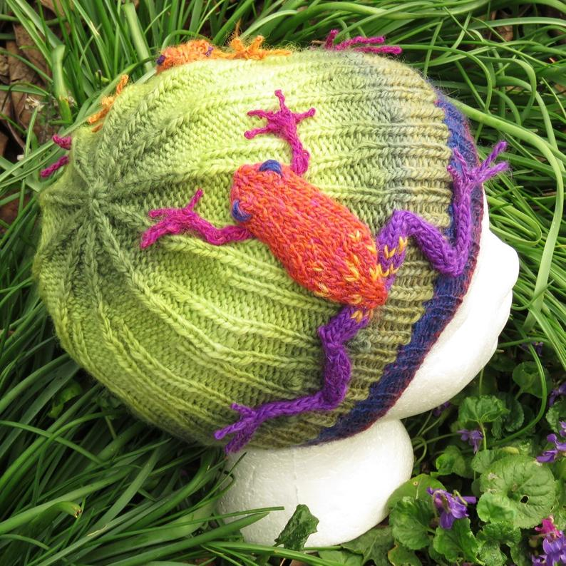 Designer Spotlight: Hey Artsy Knitters, Joan's Garden Offers The Most Playful Patterns You Ever Did See!
