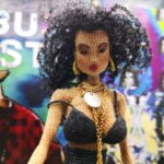 Incredible Crochet Tribute To Neneh Cherry's Buffalo Stance By Ayda's Dolls