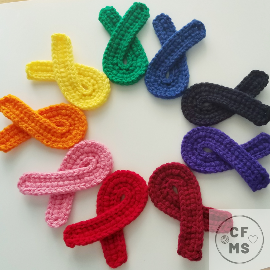 Crochet Your Own Awareness Ribbons With This Free Pattern