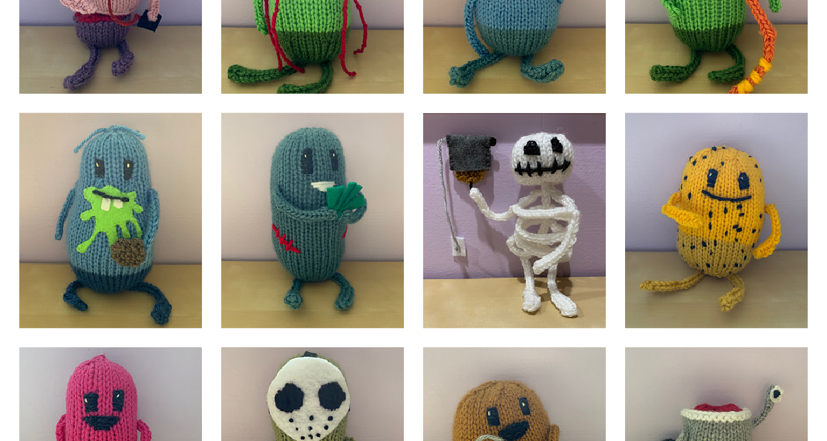 Knit Your Favorite 'Dumb Ways To Die' Characters With This Amigurumi Collection Designed By Carrie Atwood