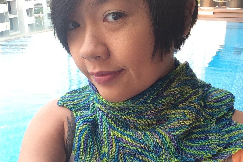 Knit a Sassy Pincha Shawl Designed By Pinpilan Wangsai … Free Pattern!