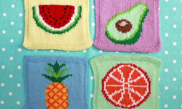 Fun and Colorful Knit Square Patterns From Ruby and the Foxes … Great For Blankets & Pillows!
