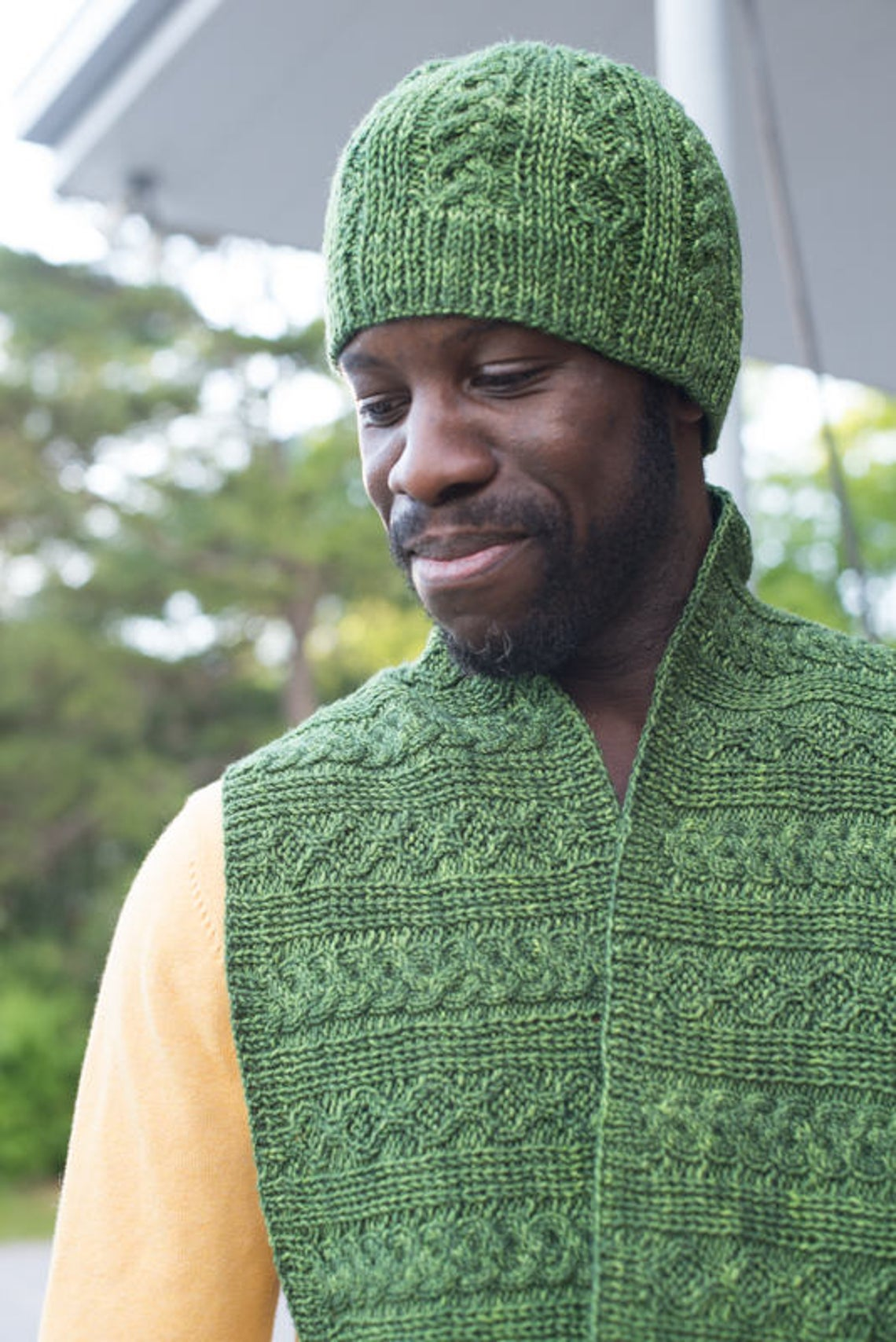 Three Smart & Stylish Hat Patterns For Knitters, Designed By Fatimah of Disturbing The Fleece