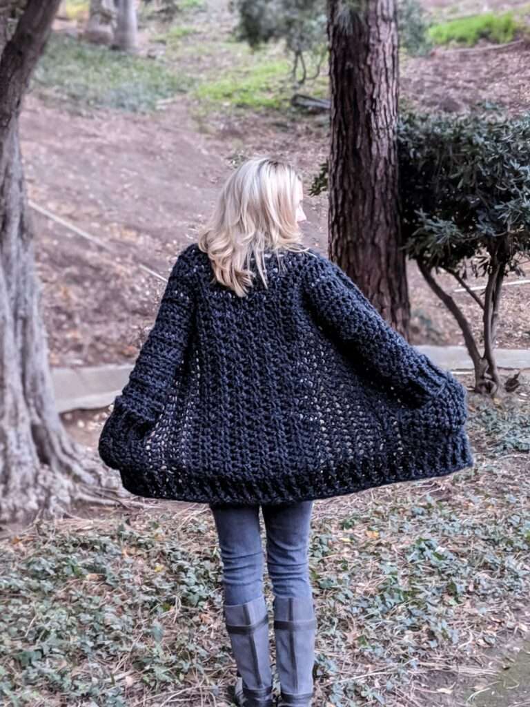 Dear Crocheters, This Is The Cozy Sunday Morning Sweater Of Your Dreams ... So Comfy!