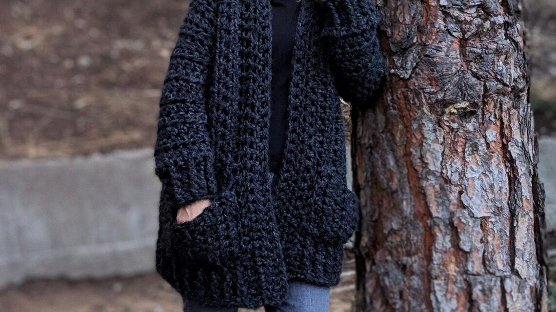 Dear Crocheters, This Is The Cozy Sunday Morning Sweater Of Your Dreams … So Comfy!