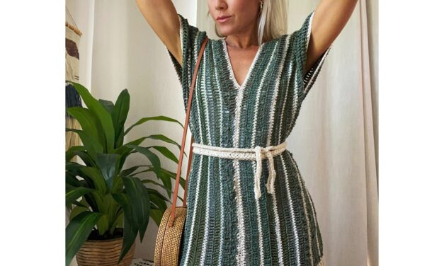 And Now For Something Different … This Oleta Poncho is a Wee Bit of Retro With a Whole Lotta Modern Flair