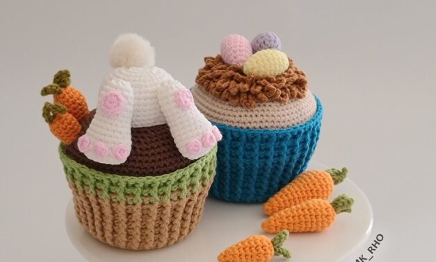 These Bunny Butt Cupcake Amigurumi Will Have Your Family In Stitches This Easter