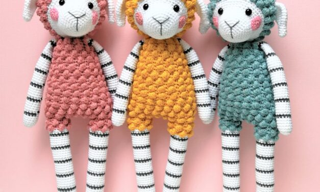 Adorable Colorful Sheep Amigurumi Dolls … Crochet Your Own Rainbow Flock!