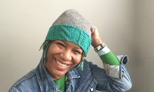 Three Smart & Stylish Hat Patterns For Knitters, Designed By Fatimah Hinds of Disturbing The Fleece