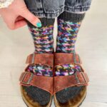Knit a Pair of Colorful Cosmic Flow Socks, Designed By Charlotte Stone
