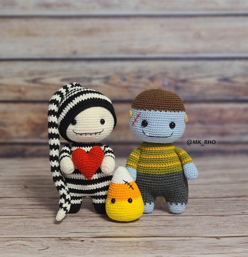 crochet patterns designed by designed by MK RHO #crochet