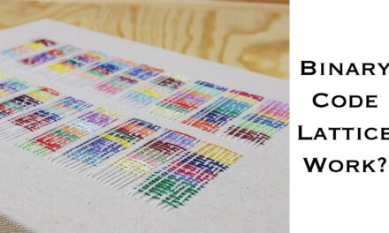 Hiding Secret Messages In Embroidery: 'What Do Espionage, Embroidery, and Binary Codes Have In Common?'
