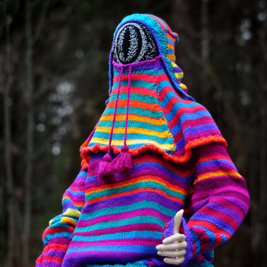 Unusual & Unexpected ... New Cyclopean Sweater From Fiber Artist Tracy Widdess