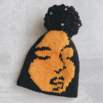 Knit a Crowning Glory Hat Designed By Dr. Charlie Untangled To Celebrate Black Girls And Their Hair!