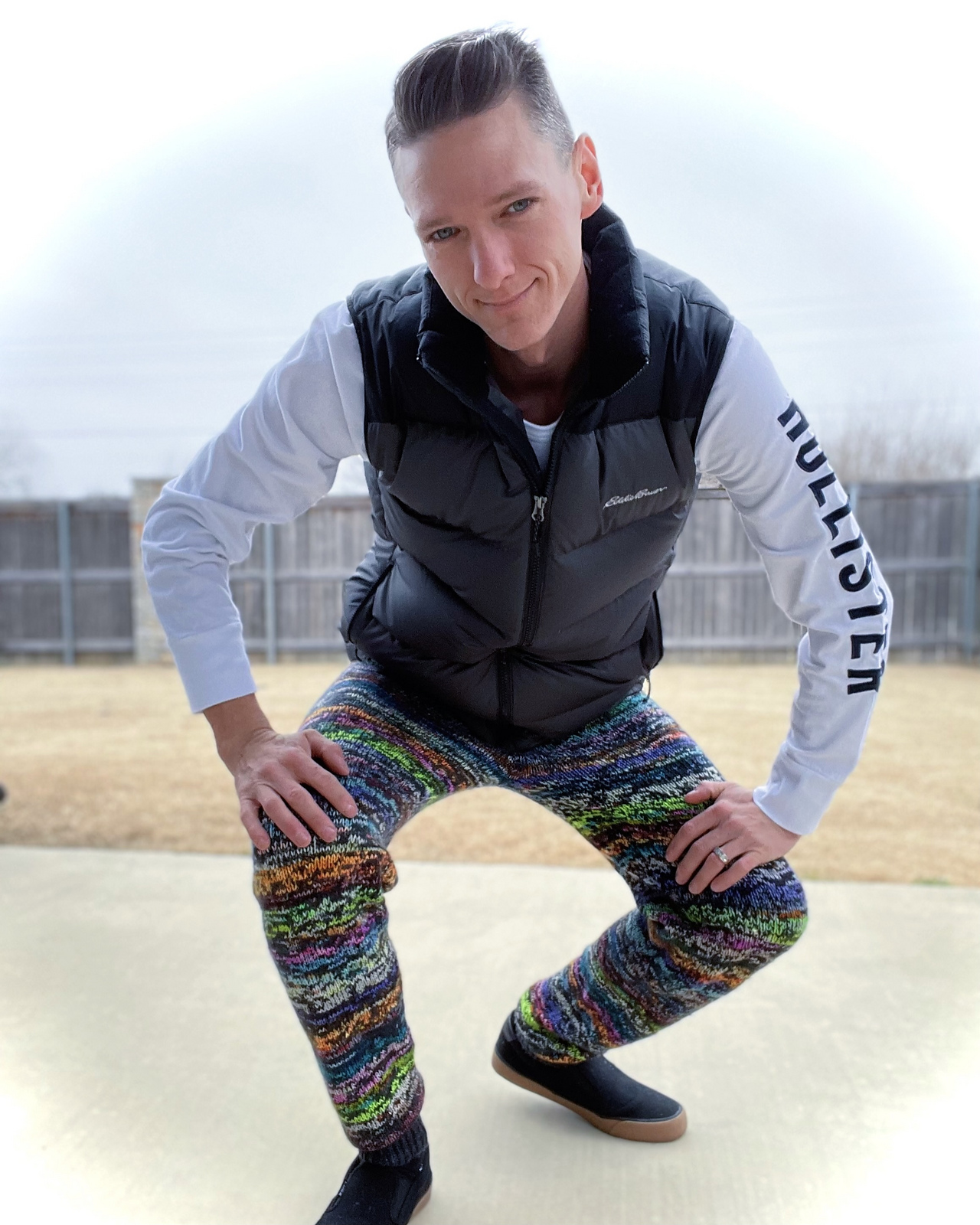 This Knit PJ Pants Pattern From Ross Taylor Will Make You Rethink Everything You Ever Thought About Knitting Pants!