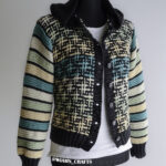 Knit a Hashtag Jacket Designed by Wiam's Crafts … Free Pattern!