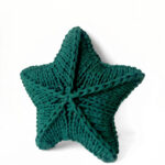 Knit A Star Pillow With Your Fave T-Shirt Yarn … For Yourself Or For Someone You Love