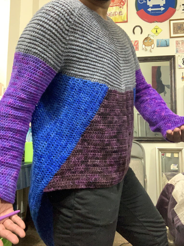 Hey Octavia E. Butler Fans! The Earthseed Pullover Pattern Is Here! Designed By Alex Reynoso