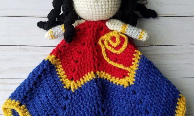 You Have Greater Powers Than You Know. You Can Crochet This Wonder Woman Lovey … and Why Wouldn't You?