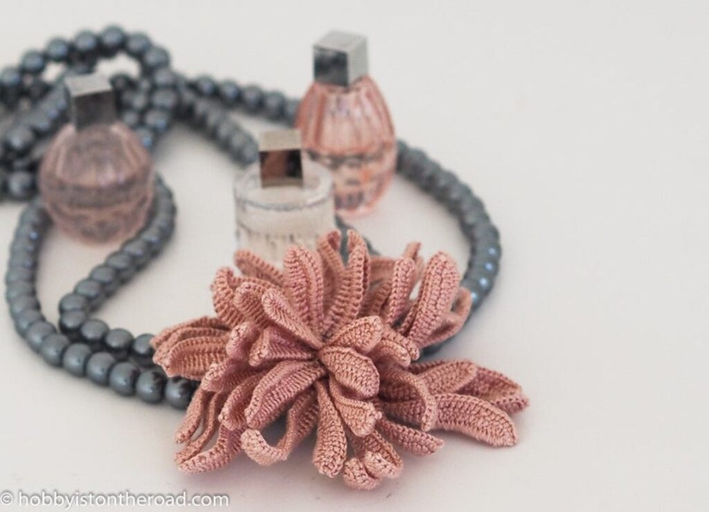 Crochet An Easy Chrysanthemum ... Wear It As a Brooch, Add It To A Sweater - This Is A Magnificent Must-Make!