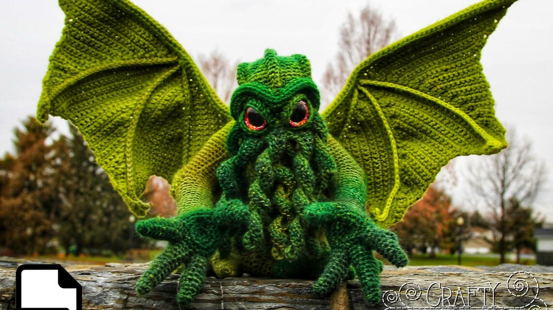 Check Out This Incredible Cthulhu Pattern By Crafty Intentions … This One Might Be My Fave Yet, She's A Genius!